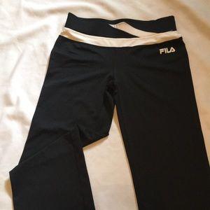 4fe3a1b8bfe2 Fila Bottoms - New FILA SPORT Performance Contrast Waist Pants